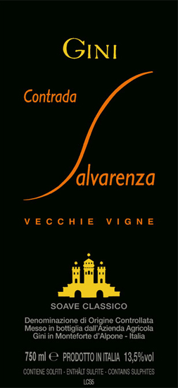 Gini Contrada Salvarenza Soave Classico Vecchie Vigne
