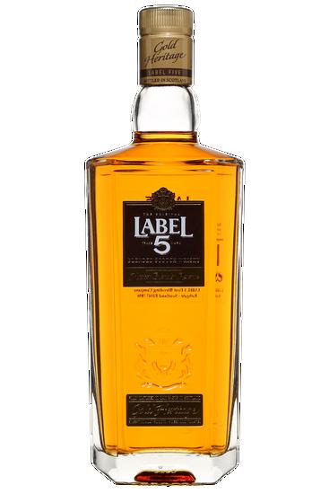Label 5 Gold Heritage Blended Scotch Whisky