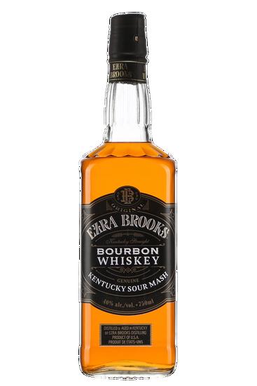 Ezra Brooks Black Label Bourbon Whiskey