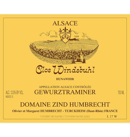 Domaine Zind-Humbrecht Clos Windsbuhl Gewurztraminer
