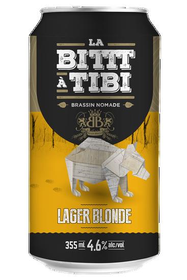 La Bittt à Tibi Brassin Nomade Lager Blonde