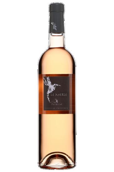 Château Pas du Cerf Le Merle rosé Côtes