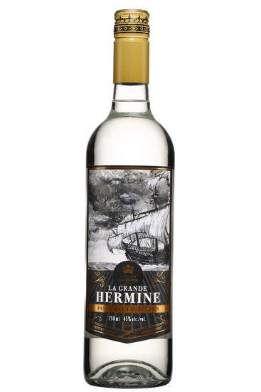 Distillerie Fils du Roy La Grande Hermine Pastis Bas-Laurentien
