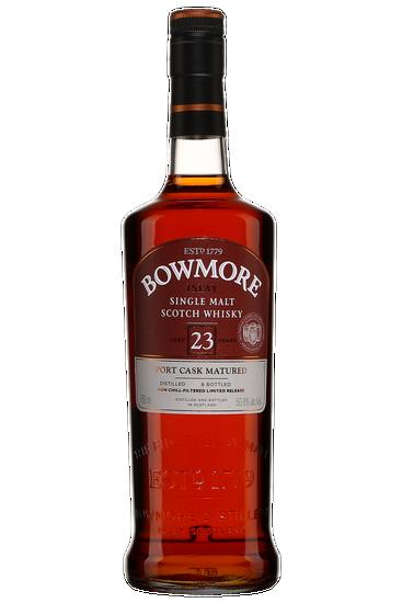 Bowmore 23 Ans Port Cask Matured Islay Single Malt Scotch Whisky
