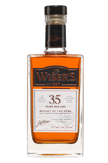 J.P. Wiser's 35 Year Old  Canadian Whisky