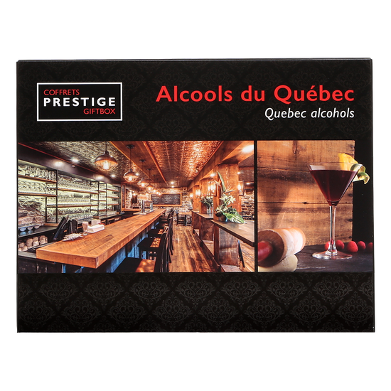 Coffret prestige - alcools du Québec