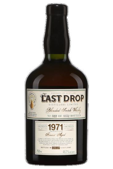 Sazerac The Last Drop 1971 46 ans Écosse Blended Scotch
