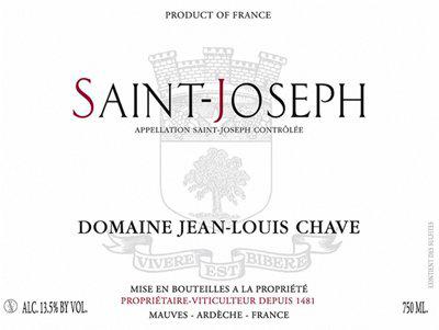 Domaine Jean-Louis Chave St-Joseph