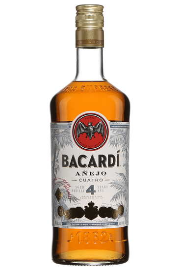 Bacardi Anejo Cuatro 4 Years Old