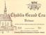 Domaine François Raveneau Chablis Grand Cru Valmur