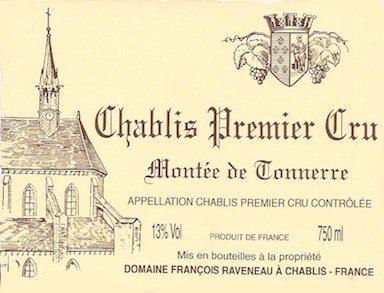Domaine François Raveneau Chablis Premier Cru Montée de Tonnerre