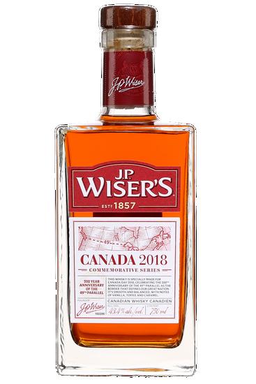 J.P. Wiser's Commemorative Series Canada 2018
