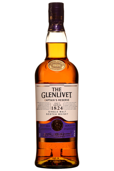 The Glenlivet Captain's Reserve Speyside Single Malt Scotch