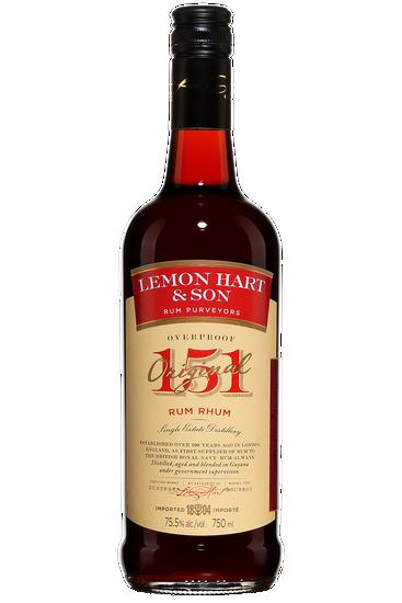 Lemon Hart Overproof 151