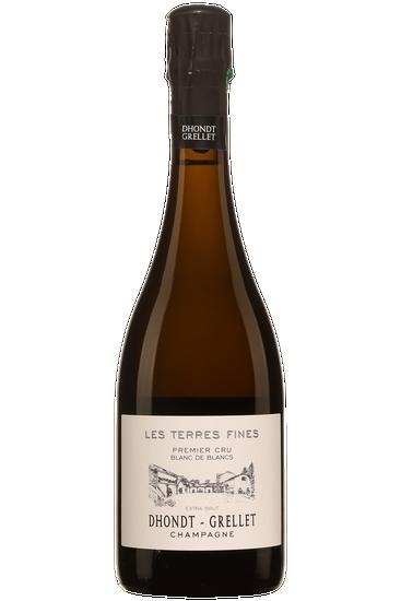 Champagne Dhondt-Grellet Les Terres Fines Blanc de Blancs Premier Cru Extra Brut