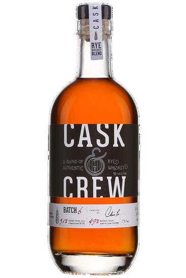 Rye Whiskey Cask & Crew