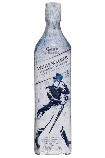 Johnnie Walker Édition Limitée White Walker Game of Thrones