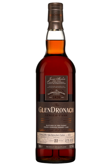 Glendronach 22 ans 1995 Cask 3311