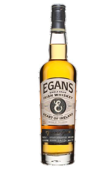 Egans Vintage Trippled Distilled Single Grain Irish Whisky
