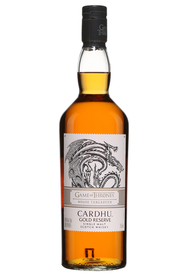 Cardhu Gold Reserve Édition limitée Game of Thrones