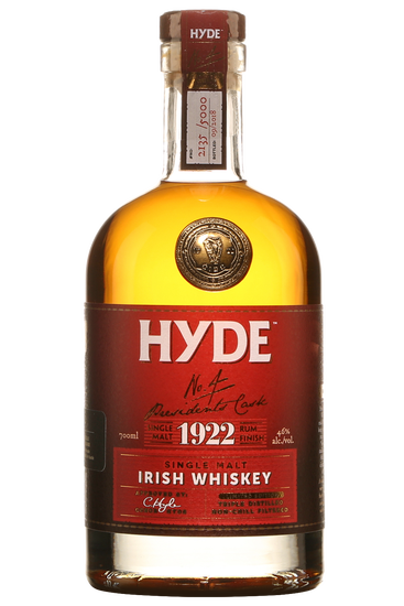 Hyde 6 Ans Rum Cask Finish N.4 Irish Single Malt Whiskey