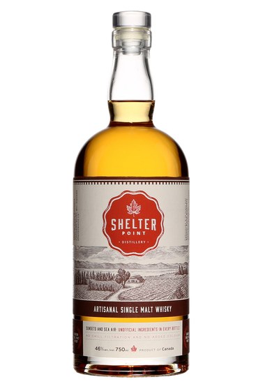 Shelter Point Artisanal Single Malt Whisky