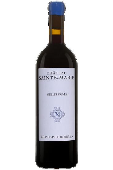 Château Sainte-Marie Vieilles Vignes Côtes De Bordeaux