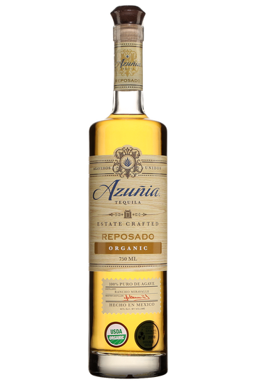 Azunia Tequila Reposado Organico