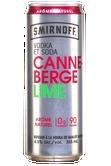 Smirnoff Vodka et Soda Canneberge Lime