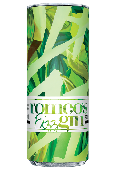 Romeo's Gin Fizz Concombre Citron