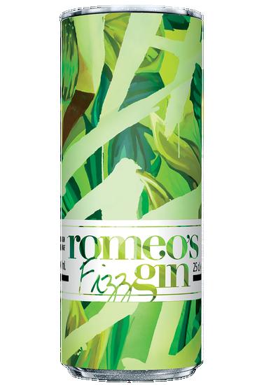 Romeo's Gin Fizz Cucumber Lemon