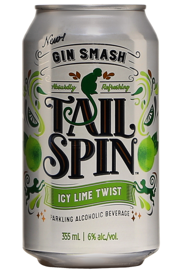 Gin Smash Tail Spin Icy Lime Twist