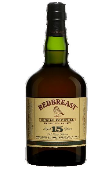 Redbreast 15 Ans Single Pot Still Whiskey Irlandais