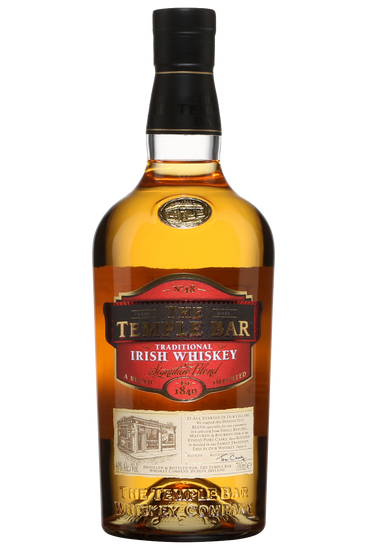 The Temple Bar Double Vieillissement Signature Blend Whiskey Irlandais