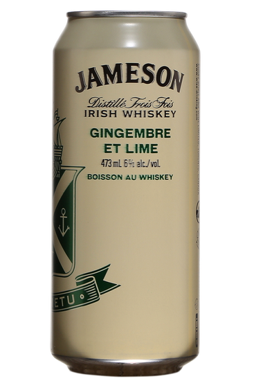 Jameson Ginger & Lime