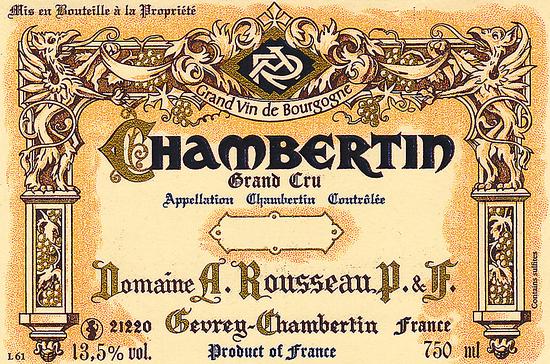 Armand Rousseau Chambertin Grand Cru
