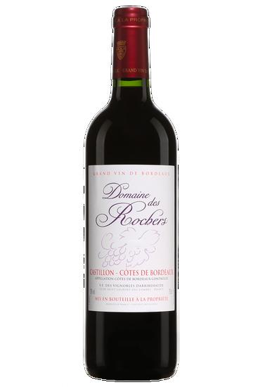 Domaine Des Rochers Castillon Côtes De Bordeaux