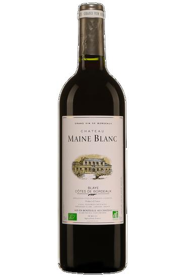 Château Maine Blanc Blaye Côtes De Bordeaux
