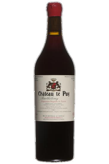 Château le Puy Barthelemy Bordeaux