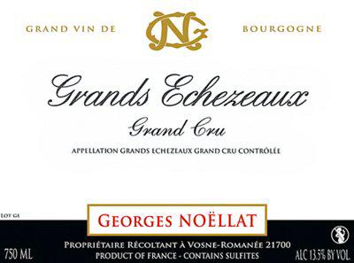Domaine Georges Noellat Grands Échezeaux Grand Cru