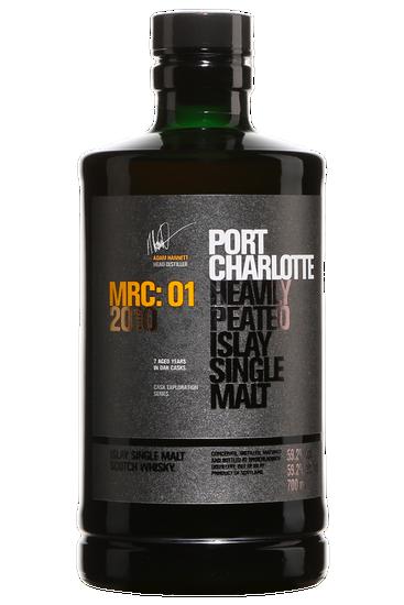 Bruichladdich Port Charlotte MRC-01 Peated Islay Single Malt Scotch Whisky