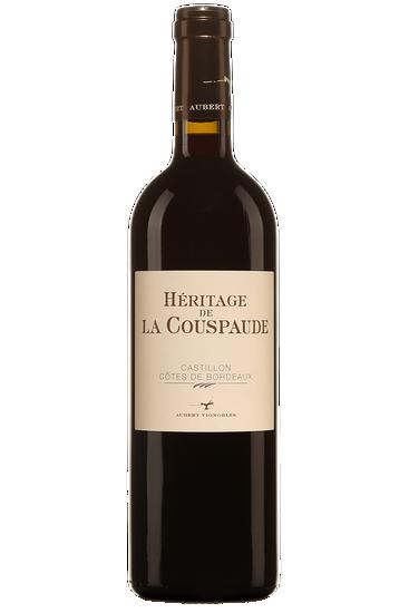 Héritage de la Couspaude Castillon Côtes de Bordeaux