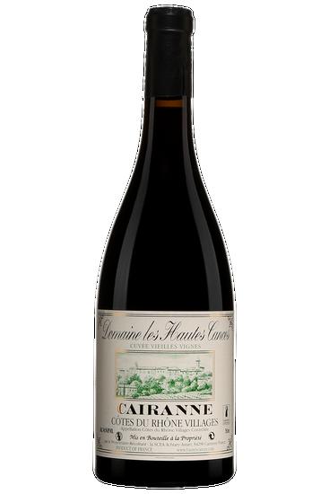 Domaine Les Hautes Cances Côtes du Rhône Villages Cairanne Vieilles Vignes