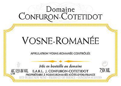 Domaine Confuron-Cotétidot Vosne-Romanée