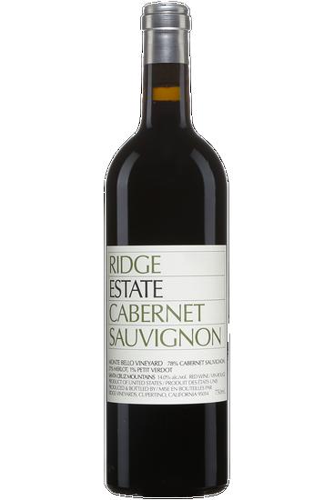 Ridge Vineyards Estate Cabernet