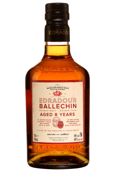 Edradour Ballechin 8 Years Double Cask Scotch Whisky