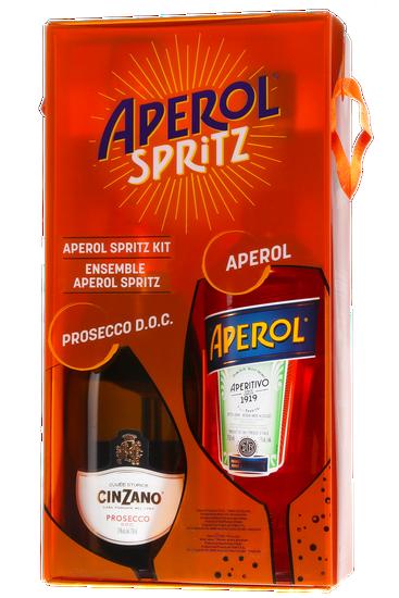 Coffret Aperol Spritz + Cinzano Rosso