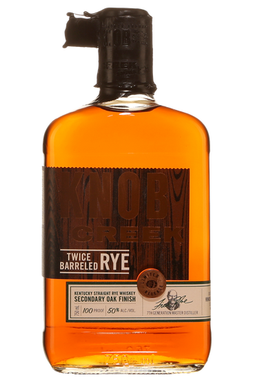 Knob Creek Twice Barreled Straight Rye