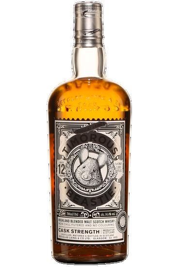 Douglas Laing Timourous Beastie Cask Strenght 12 Ans Édition Limitée Blended Malt Scotch Whisky