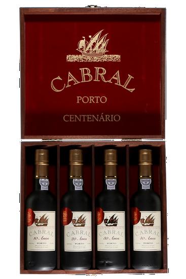 Cabral Coffret Centenaire Tawny 10,20,30 et 40 ans (4x375 ml)